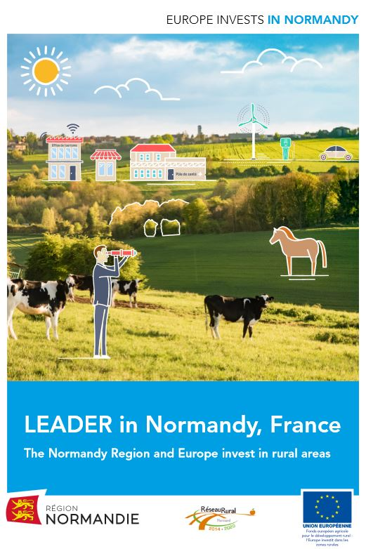 "Brochure ""LEADER in Normandy"""