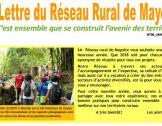 La lettre d'information du réseau rural de Mayotte...