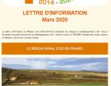 LETTRE D'INFORMATION #3 - MARS 2020