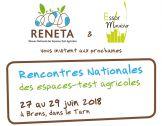 Rencontres nationales des espaces-tests agricoles