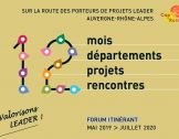 Forum itinérant LEADER 2019-2020 : 12 projets à dé...
