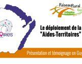 """Webinaire  """"Aides-Territoires"""" en Région, exe..."""