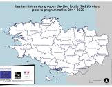 Les territoires leader en Bretagne