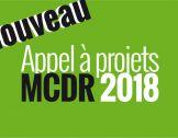 Le nouvel appel à projets MCDR 2018 !