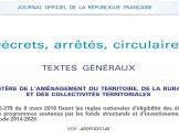 Textes officiels sur la coopération leader
